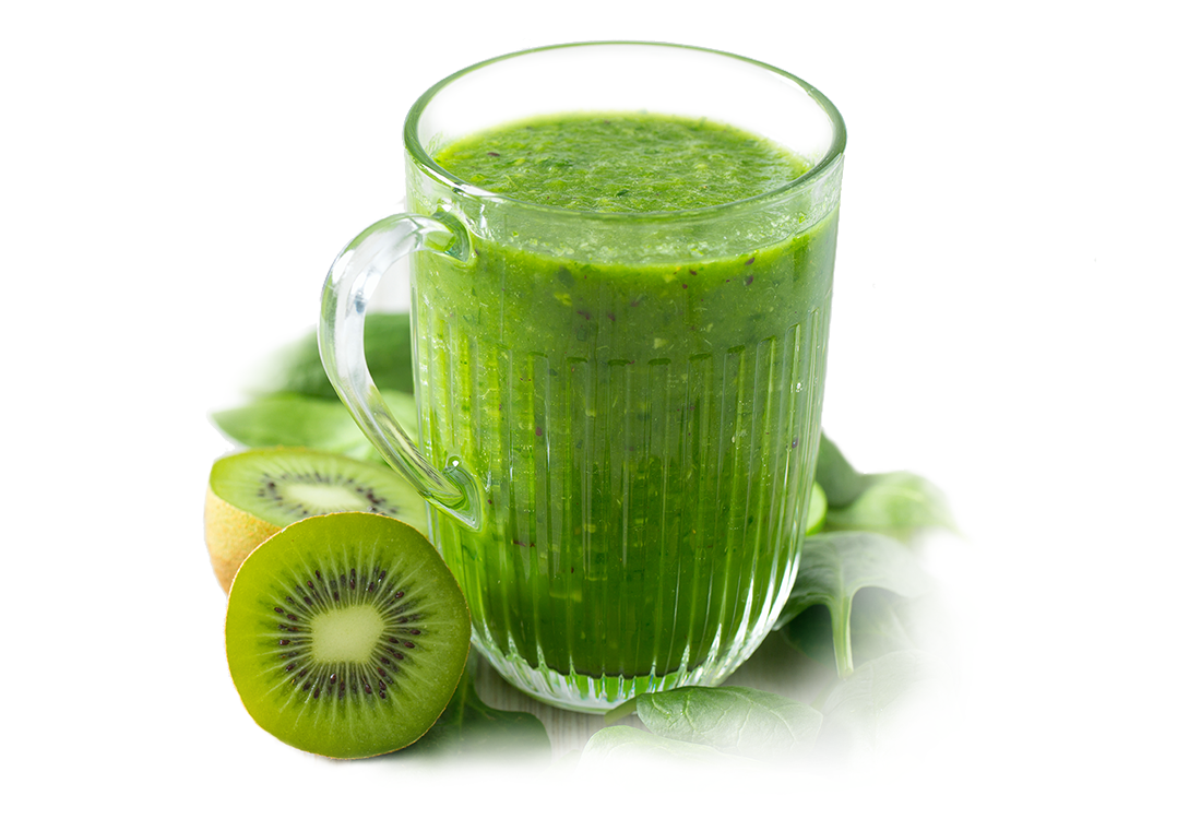 pitcher of plant based beverage
