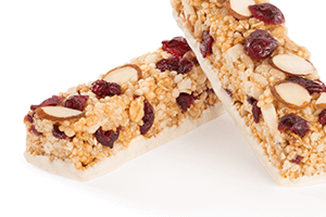 Fruit and nut toppings bars