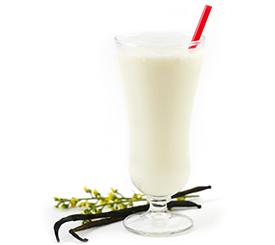 plant protein dietary fiber vegan vanilla shake