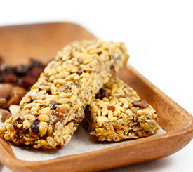 gluten free non-GMO protein bar